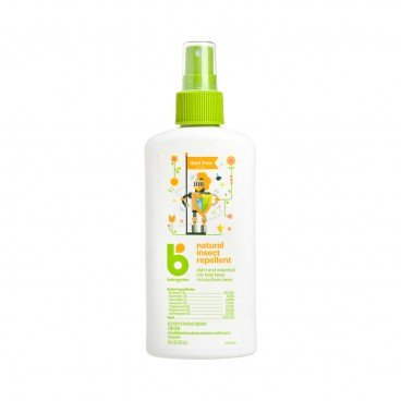 BABYGANICS(PARALLEL IMPORT) - Natural Insect Repellent Deet free - 6OZ