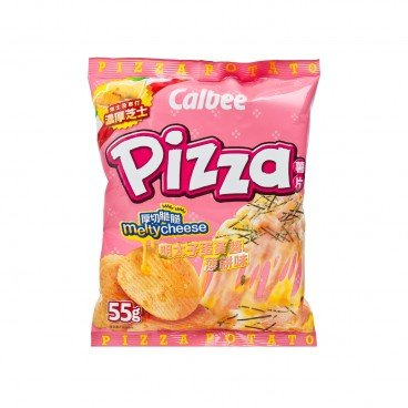 CALBEE Potato Chips mentaiko Mayonnaise Pizza Flavoured 55G