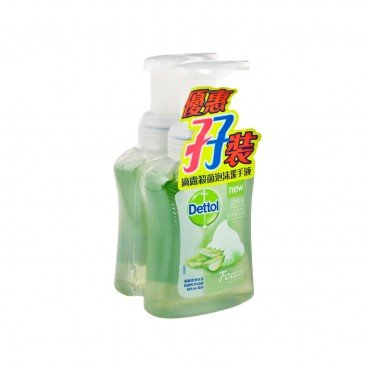 DETTOL - Foam Hand Wash aloe Vera Twin Pack - SET