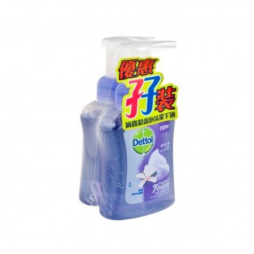 DETTOL - Foam Hand Wash vanila Orchid Dream Twin Pack - SET