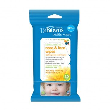 DR. BROWN'S - Cleaning Wipes nose Face - 30'S