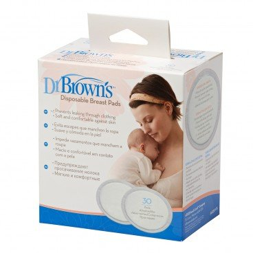 DR. BROWN'S Disposable Breast Pads 30'S