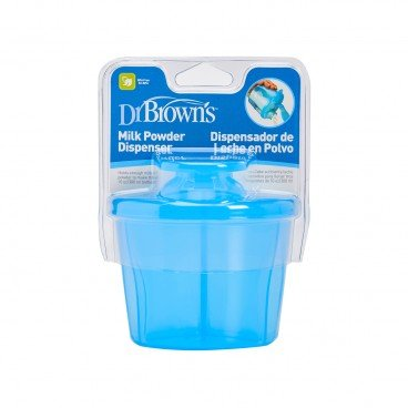 DR. BROWN'S Milk Powder Dispenser blue PC