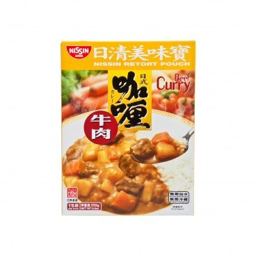 RETORT POUCH-BEEF CURRY