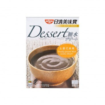 NISSIN Retort Pouch Freshly Ground Black Sesame 220GX2