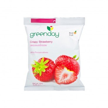 GREENDAY Crispy Strawberry 25G