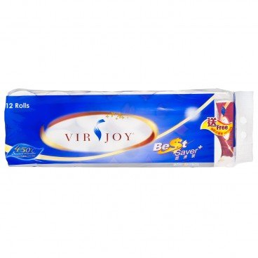 VIRJOY Best Saver Roll Tissue 12'S