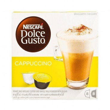 NESCAFE DOLCE GUSTO - 卡布奇諾咖啡 - 8'S