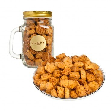 COOKIES IN JAR-SALTED EGG YOLK AND CHEDDAR CHEESE