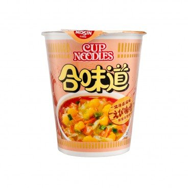 NISSIN - Cup Noodle shrimp And Miso Flavour - 75G