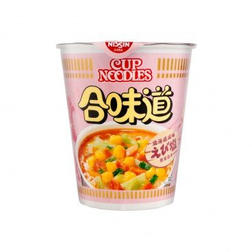 NISSIN - Cup Noodle shrimp And Salt Flavour - 75G