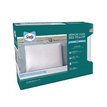 SEALY Memory Foam Bed Pillow PC