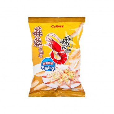 CALBEE - Prawn Crackers garlic Steamed Shrimp - 40G