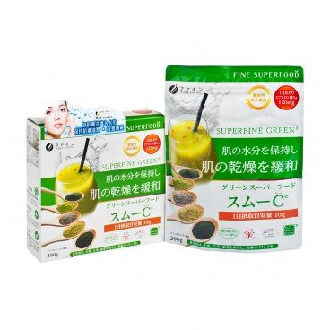 FINE JAPAN Foods With Functional Claims Green Superfood Smoo c 200G