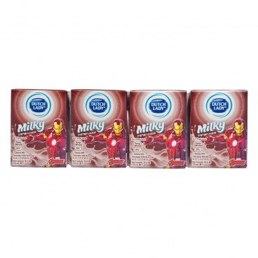DUTCH LADY Milky Chocolate Milk 110MLX4