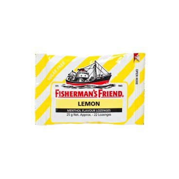 FISHERMAN'S FRIEND Sugar Free Lemon Lozenges 25G