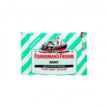 FISHERMAN'S FRIEND Sugar Free Mint Lozenges 25G