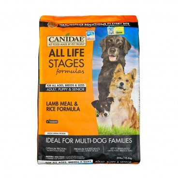 CANIDAE Lamb  Rice For Dogs 30LB