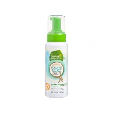 SEVENTH GENERATION Coconut Care™ Foaming Shampoo And Wash 266ML