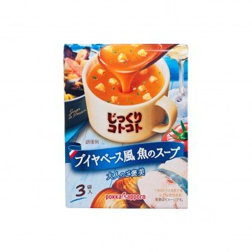 POKKASAPPORO Bouya Base Style Fish Soup 3'S