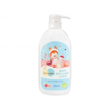 LAMOON Organic Bottle And Nipple Cleanser 500ML