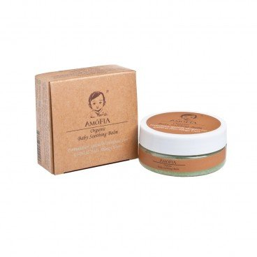AMOFIA - Organic Soothing Balm suitable For Nuts Gluten Allergy - 50G