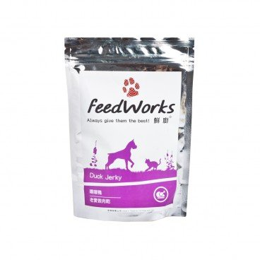 FEEDWORKS Duck Jerky 80G