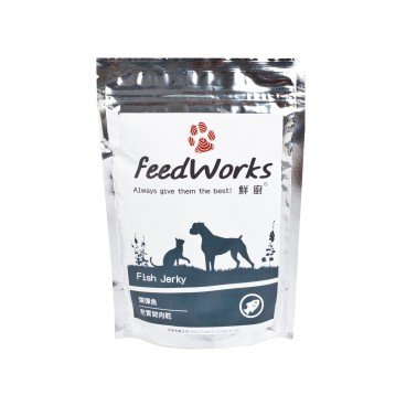 FEEDWORKS Fish Jerky 80G