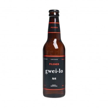 GWEI LO Pilsner bottle 330ML