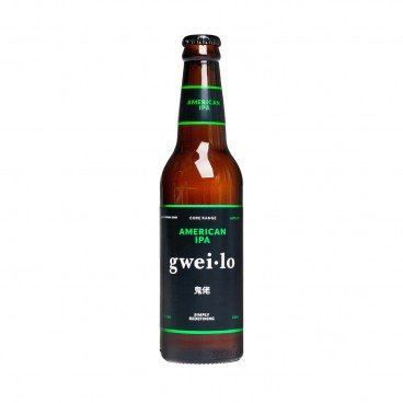 GWEI LO American Ipa bottle 330ML