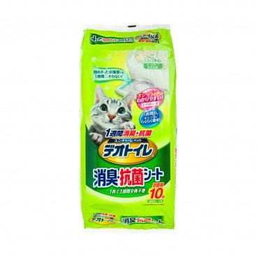 UNICHARM Anti bacterial Sheets 10'S