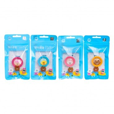 BIKIT GUARD Mosquito Repellent Clip line Friends random One PC