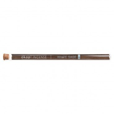 OKAPI Incense Stick Series white Sage With Sandalwood 20'S