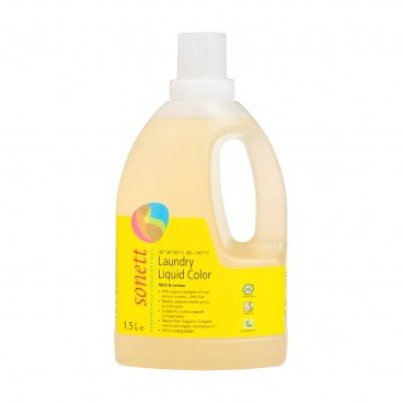 SONETT - Laundry Liquid Color Mint Lemon - 1.5L