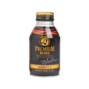 SUNTORY - Premium Boss Sugar free Black Coffee - 285ML
