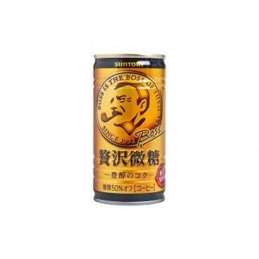 SUNTORY - Premium Boss Slightly Sweet Coffee - 185ML