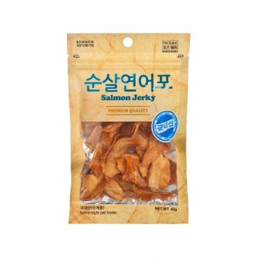 BOWWOW Dried Salmon Jerky 40G