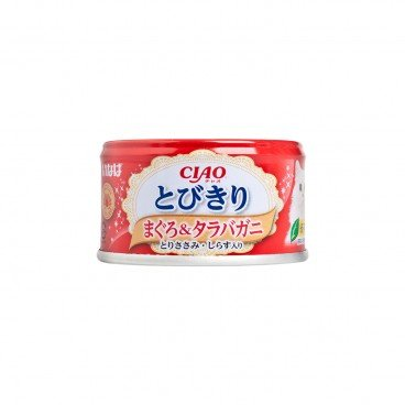 CIAO Selected Tuna King Crab With Chicken White Baits PC