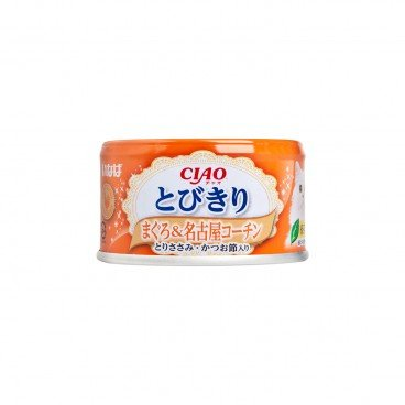 CIAO Selected Tuna Nagoya Kochin Chicken With Chicken Bonito Shavings PC