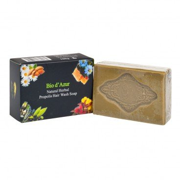 BIO D'AZUR MAAT Natural Herbal Propolis Hair Wash Soap 100G