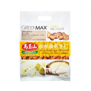 GREENMAX Walnut hazelnut Almond Meal 30GX13