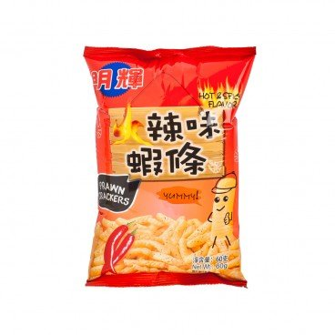 BRILLIANT - Prawn Cracker hot And Spicy Flavour - 60G