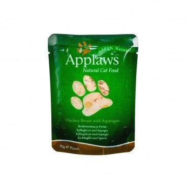 APPLAWS (貓用)餐包-雞肉及蘆筍 70G