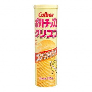 CALBEE Potato Chips clear Soup 115G
