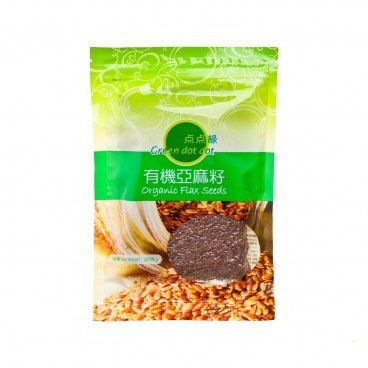 GREEN DOT DOT Organic Flaxseed 250G