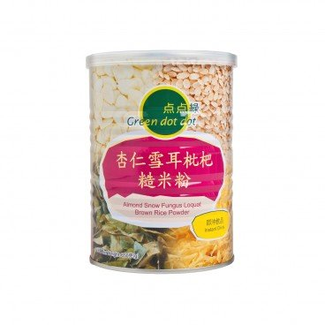 GREEN DOT DOT Almond Snow Fungus Loquat Brown Rice Powder 350G