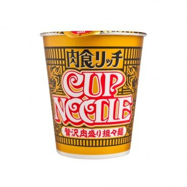 CUP NOODLE-SPICY MEAT