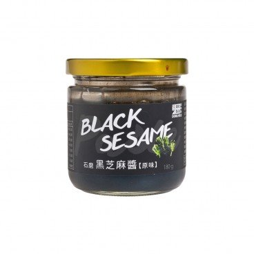 DONG HE - Stone Milled Black Sesame Paste no Added Sugar - 180G