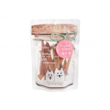 CHEESE N DASH Pig Ear Strips 50G