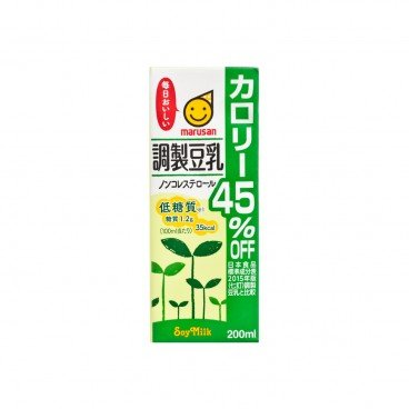 MARUSANA Chosei Tonyu Calorie 45 Off 200ML